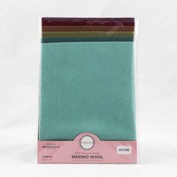 "Sue Spargo, Merino Wool Felt Packs (9"" x 7"")"