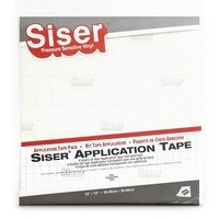 Siser 6pk Transfer Tape (11.8in x 12in)