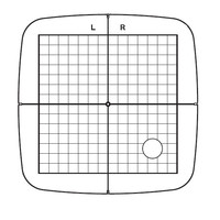 Hoop Grid for SQ14b, Janome #864803A01