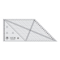 8in 45 Degree Diamond Dimensions Ruler, Creative Grids