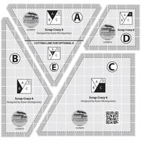 Scrap Crazy 6 Templates, Creative Grids