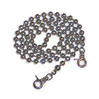 "36"" Silver Ball Chain, Ellen Medlock Collection"