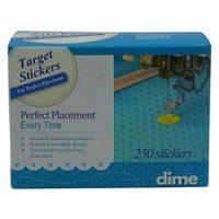 250pk Target Stickers