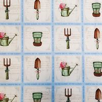 Pink Lady, Gardening Fabric Blocks