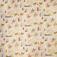 Paintbrush Studio, Silent Night Nativity Fabric