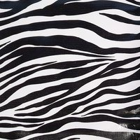 47in Zebra Oilcloth Fabric