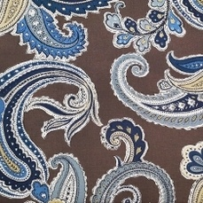 "Global Paisley 54"" Truffle, Upholstery Fabric"