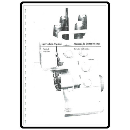 Instruction Manual, Bernette Funlock 004