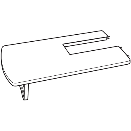Extension Table, Singer #051064
