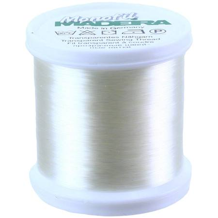 Madeira Monofil Clear Thread, 550 Yds.