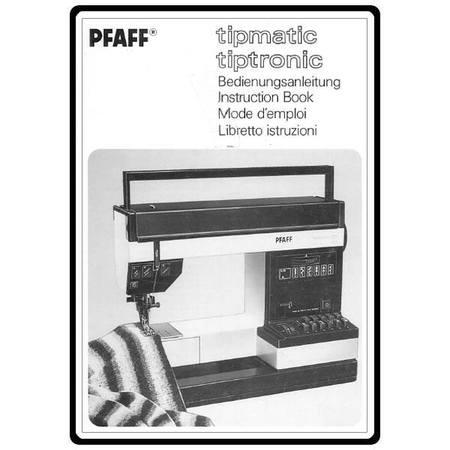 Service Manual, Pfaff 1071