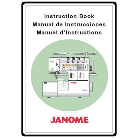 Instruction Manual, Janome 1100D