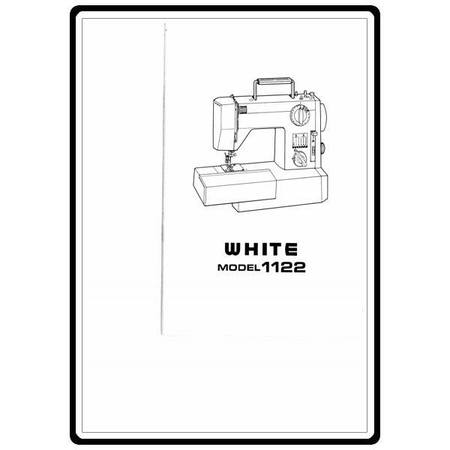 Instruction Manual, White 1122
