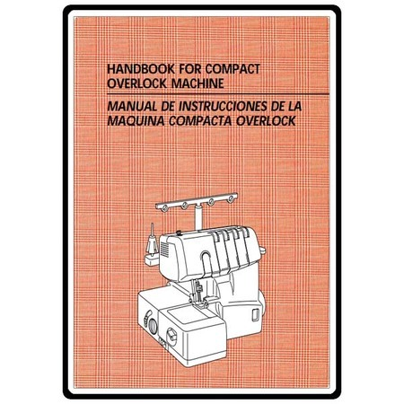 Instruction Manual, Brother Compact Overlock 1134DW