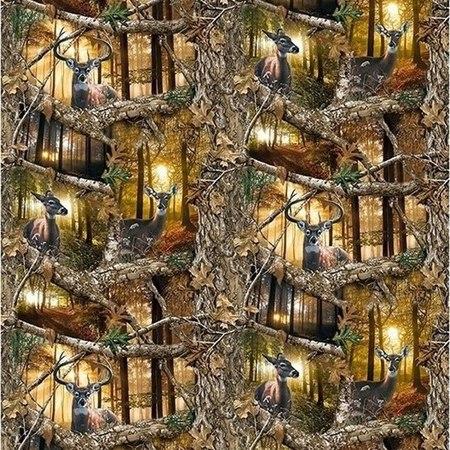 Realtree Daybreak Edge, Scenic Deer Fabric