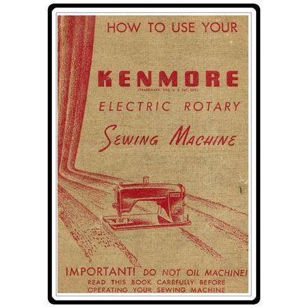 instruction manual kenmore 120 491 sewing parts online rh sewingpartsonline com Kenmore Manuals PDF Kenmore Progressive Vacuum Owner's Manual