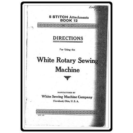 Instruction Manual, White 12