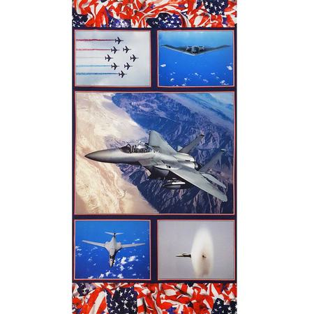 Air Show, American Spirit Fabric Panel