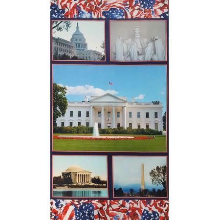 Welcome to Washington, American Spirit Fabric Panel