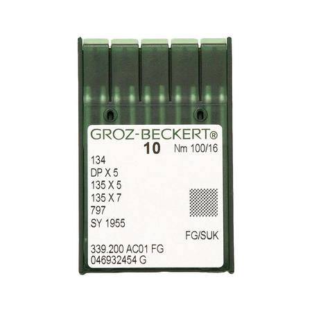 Needles, Groz-Beckert Type 134FG (10pk)