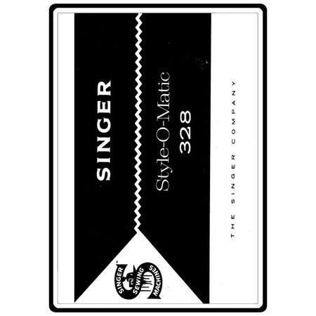 Instruction Manual, Singer 328K