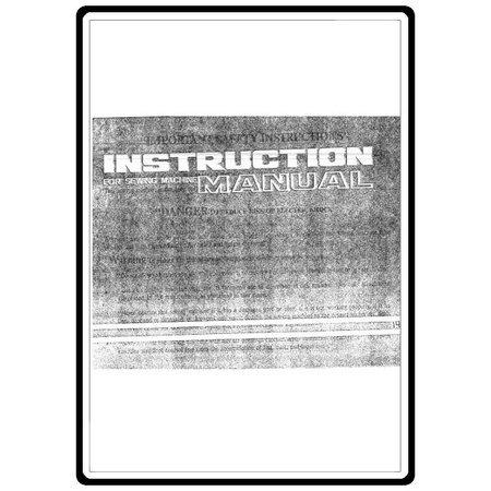 Instruction Manual, White 1415