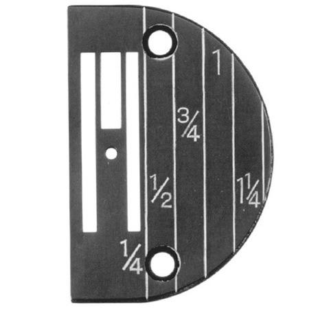 Needle Plate, Singer #143175