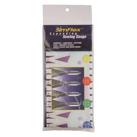 Simflex Expanding Sewing Gauge : Sewing Parts Online