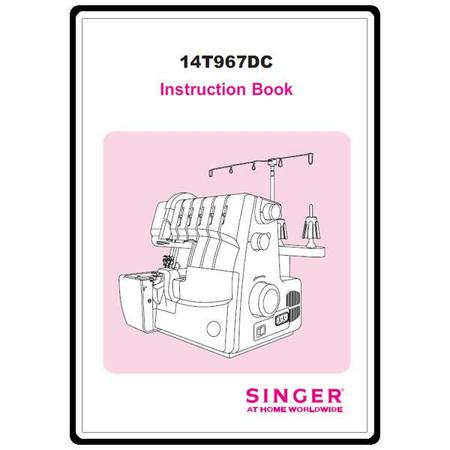 Instruction Manual, Singer 14T967DC