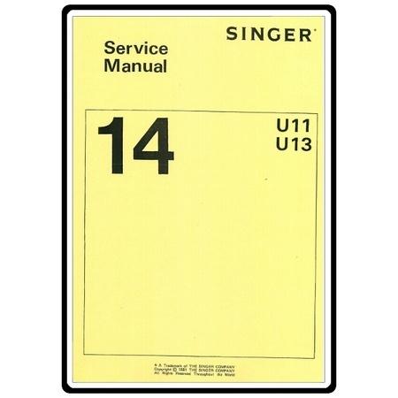 Service Manual, Singer 14U53