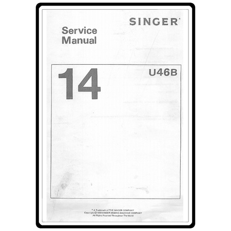 Service Manual, Singer 14U46B