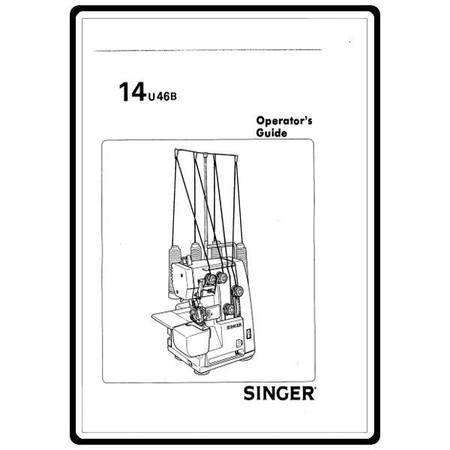 Instruction Manual, Singer 14U46B