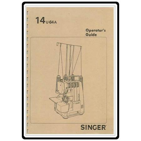 Instruction Manual, Singer 14U64A