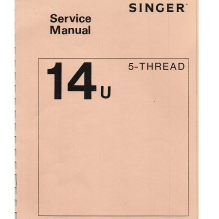 Service Manual, Singer 14U65