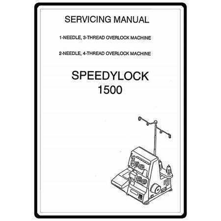 Service Manual, White 1500 Speedylock