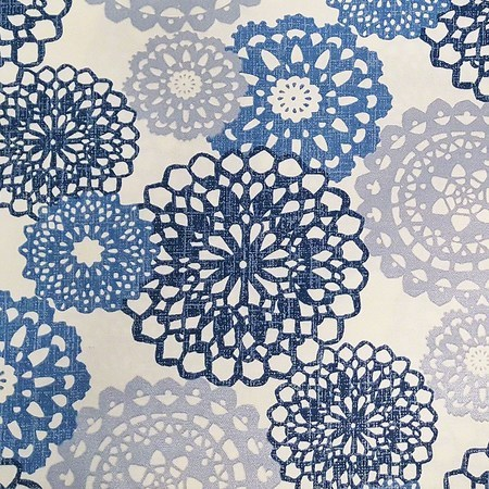 "Waverly, Rare Jewels, Midnight Upholstery Fabric - 54"""