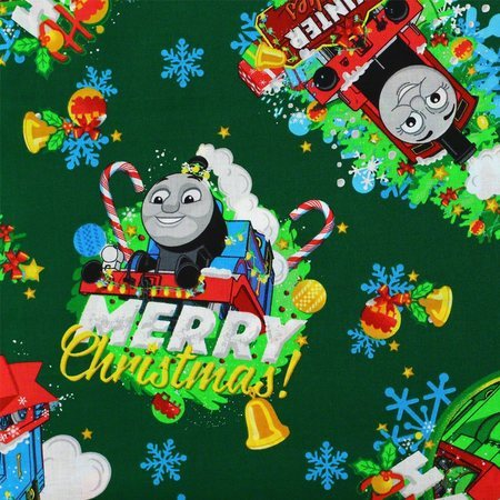 Holiday Thomas the Train Fabric, Cranston