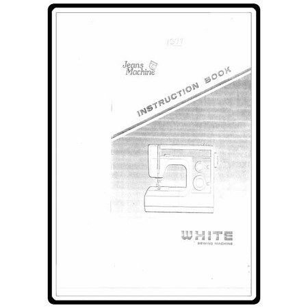Instruction Manual, White 1577