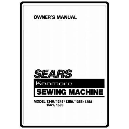 Instruction Manual, Kenmore 158.13580