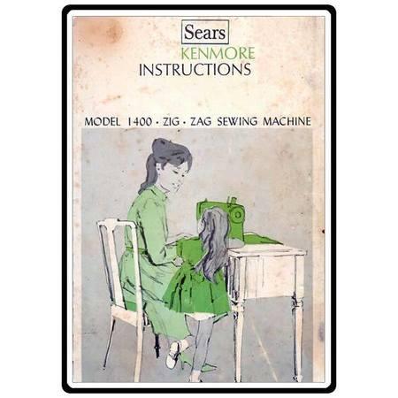 Instruction Manual, Kenmore 158.1400