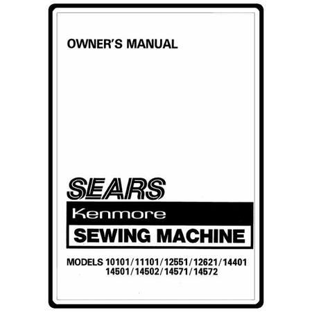 Instruction Manual, Kenmore 158.1450180