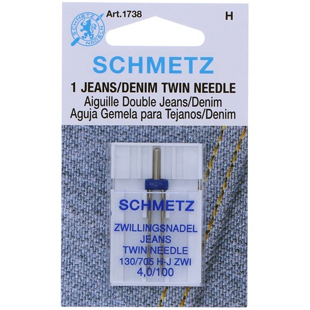 Denim/Jeans Twin Needle, Schmetz (1pk)
