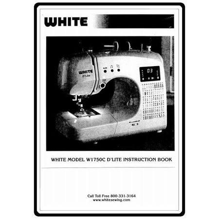 Instruction Manual, White 1750C
