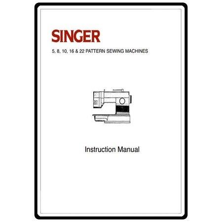 Instruction Manual, Singer 18434