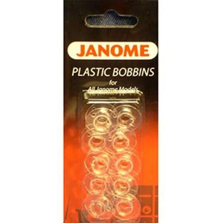 Bobbins 10pk, Plastic, Janome #200122614