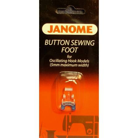 Sew-On Button Foot, 5mm, Janome #200131007