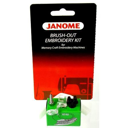 Brush-out Embroidery Kit, Janome #200383006