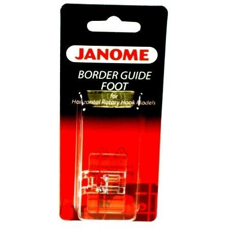 Border Guide Foot, Janome #200434003