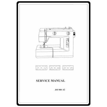 Service Manual, Elna 2006