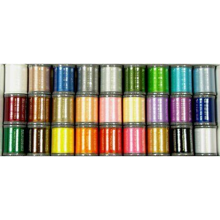 Polyester Embroidery Thread Kit 1, Janome #200920001